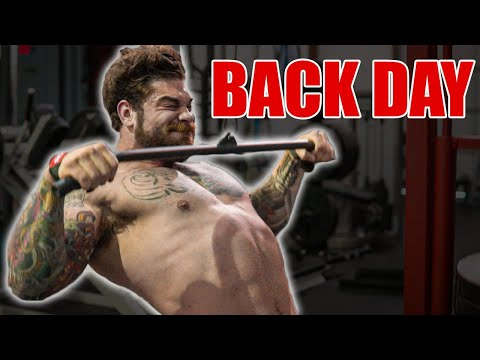 How To Build A Huge Back (hypertrophy Workout)