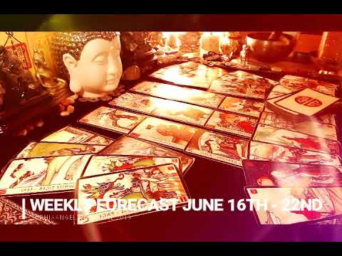 PISCES WEEKLY FORECAST JUNE 16TH - 22ND OPEN YOURSELF FOR THE BRAND NEW BEGINNINGS AND ABUNDANCE