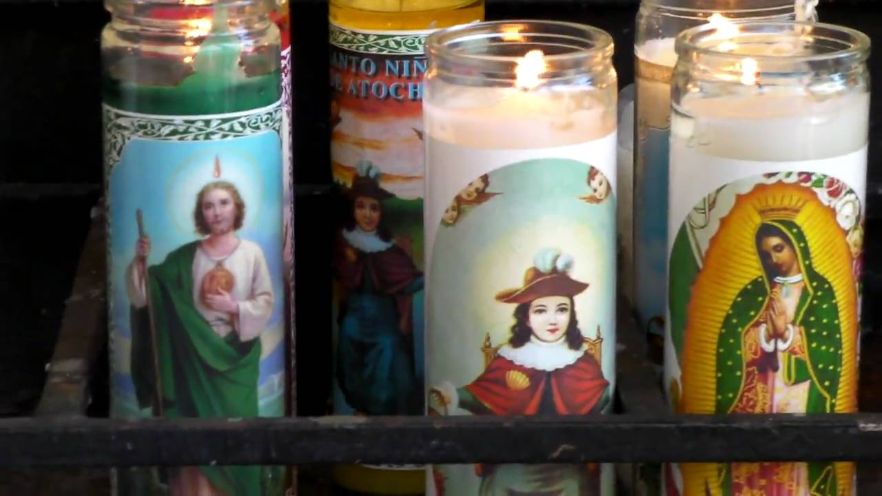 Catholics light prayer candles! - YouTube  sc 1 st  YouTube & Queen of Angels Church...Catholics light prayer candles! - YouTube