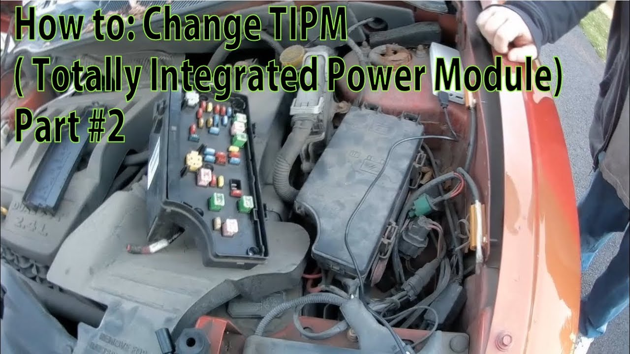 Dodge Nitro TIPM: totally integrated power module - Page 5