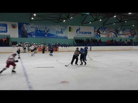 Хоккей/драка Кристалл (Славгород) - Локомотив (Нск) 04-05 г.р.