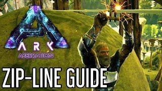 Zip-Line Guide for ARK: Aberration
