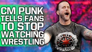 CM Punk Tells Frustrated Fans To Stop Watching Wrestling