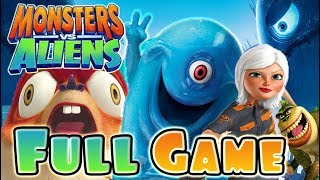 Monsters VS Aliens FULL GAME Movie Longplay (PS3, X360, Wii, PS2)