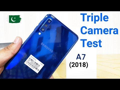 Samsung Galaxy A7 (2018) Triple camera Test /A7 (2018) ultrawaide Camera