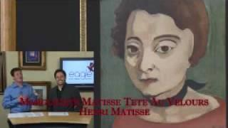 Henri Matisse, Marguerite Matisse Tete Au Velours