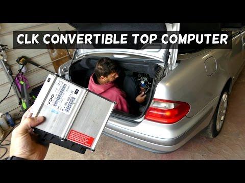 98 99 00 01  MERCEDES CLK430 CLK320 CONVERTIBLE TOP MODULE A 208 820 11 26