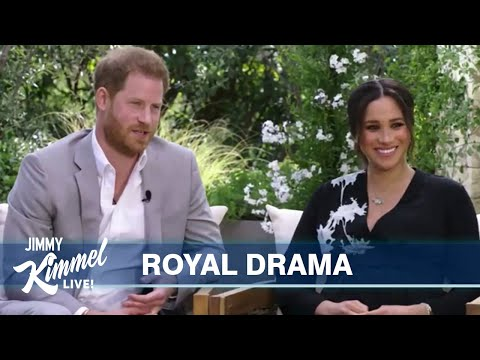 Jimmy Kimmel on Meghan & Harry's Shocking Interview with Oprah