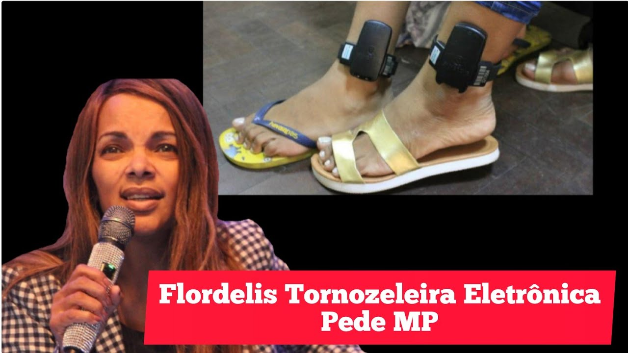 "Flordelis Recebe Notícia:"" Tornozeleira Eletrônica E Deixa - YouTube"