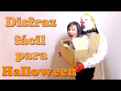 El Mejor Disfraz De #Halloween De última Hora | Disfraces Rapidos Facil Con Cosas De Casa Isa ❤️