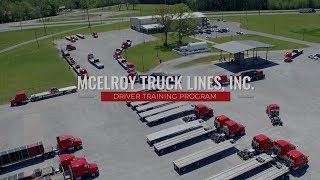 McElroy Truck Lines | Student Driver Training