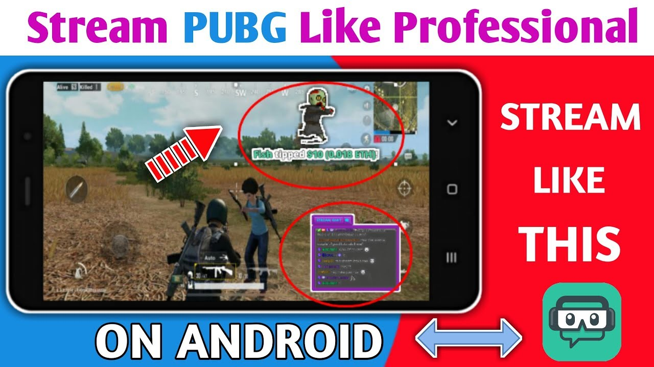 Mobile Se Professional Live Stream Kaise Kare ll Streamlab Full Tutorial ll  How To Add Chat Box
