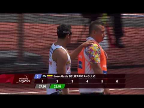 Bronze Men's Discus F11| Final | London 2017 World Para Athletics Championships