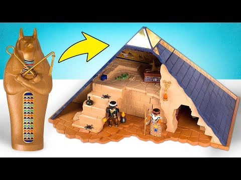 Build A Pyramid And Uncover All Its Secrets With PLAYMOBIL Pharaoh's Pyramid