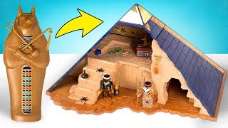 Download Build A Pyramid And Uncover All Its Secrets With PLAYMOBIL Pharaoh's Pyramid Mp3 and Videos