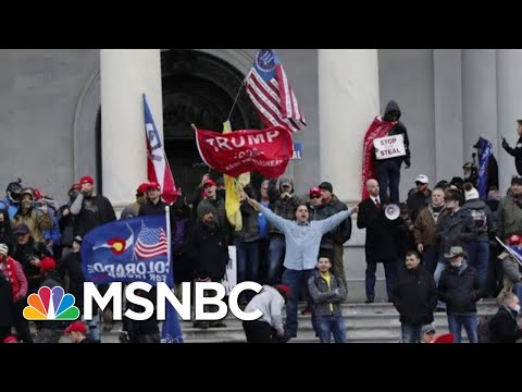 Capitol Police Investigating 35 Officers For Their Actions During Riot   Hallie Jackson   MSNBC