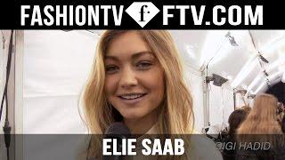 Makeup at Elie Saab Spring 2016 Paris Fashion Week ft. Gigi Hadid & Kendall Jenner | FTV.com