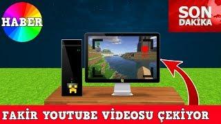 ZENGİN VS FAKİR #84 - Fakir Youtube Videosu Çekiyor (Minecraft)