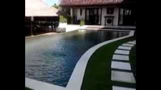 Blue Horizon Villa Jimbaran Hill - Pool side an living room