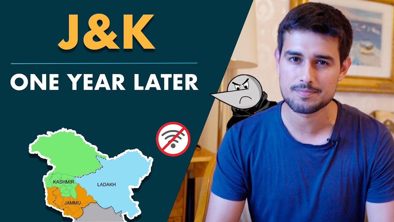 Article 370: One Year Later | Dhruv Rathee ft. Angry Prash