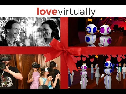 Love Virtually: Martin and Elisa's Virtual Reality (VR) Wedding Story
