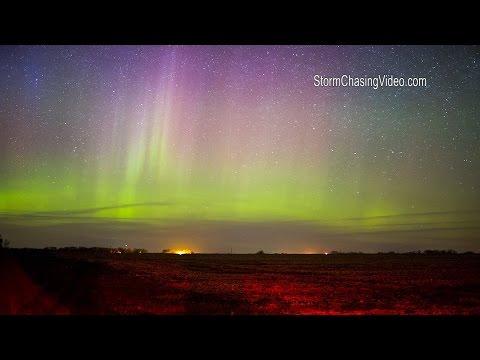 Benton County MN Aurora Borealis - 5/3/2016