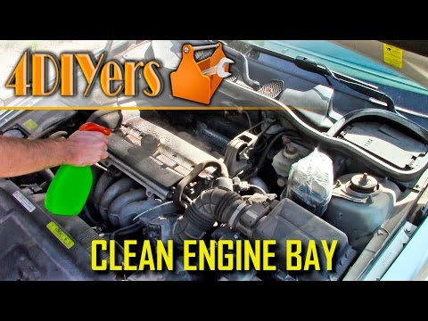 How To Clean Engine Bay >> How To Wash An Engine Bay 6 Steps With Pictures