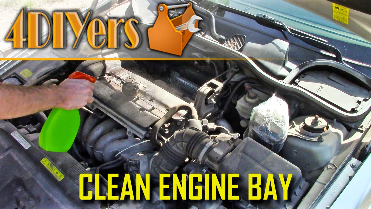 How to Wash an Engine Bay: 6 Steps (with Pictures)