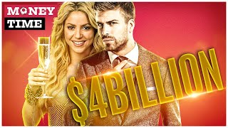 Piqué - Shakira, The Richest Couple Of Stars In The World?   Money Time