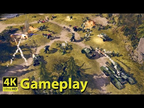 Halo Wars 2 - 4K GAMEPLAY [Halo, The Real Time Strategy game]
