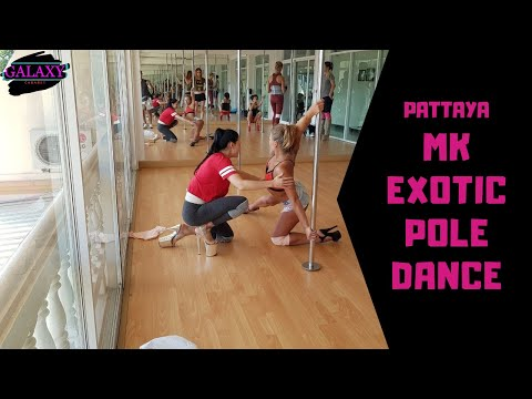 Мастер класс 2019, по exotic pole dance. Отель  Паттайя