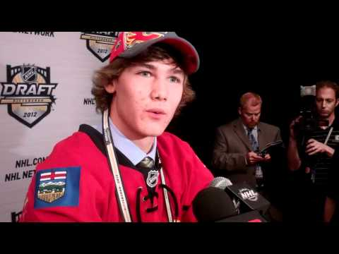 #21 Overall Selection in the 2012 NHL Draft MARK JANKOWSKI of the Calgary Flames