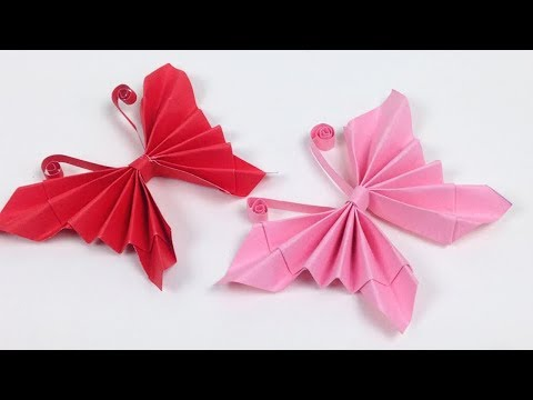 How to Make Easy Origami Paper Butterflies🦋 - DIY   A Very Simple Butterfly 🦋 for Beginners Making