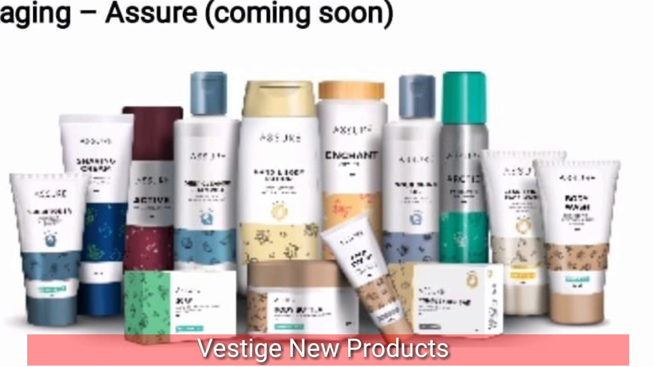 vestige new product range will be launched in july youtube