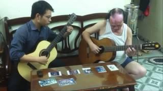 Giấc mơ trưa(Guitar)_ Giáng Son. Soạn guitar: Đức Hiển. BD: Văn Vượng_Đức Hiển