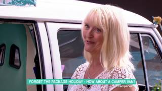Forget The Package Holiday - How About A Camper Van? | This Morning