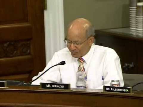 Ranking Member DeFazio on tribal self governance and H.R. 4546