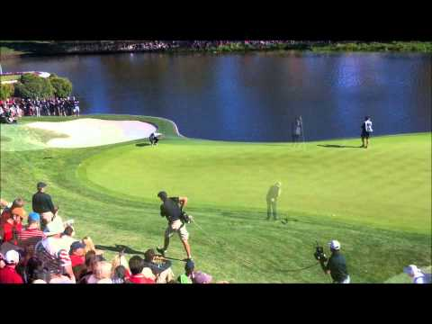 Mickelson Rose 17th Hole Ryder Cup 2012 Final Day Medinah