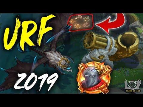 NOVI URF JE NAJBOLJI URF DO SAD ?! League of Legends URF 2019