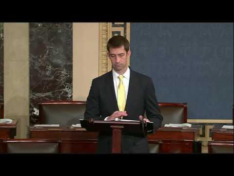 June 21, 2016: Sen. Tom Cotton delivers Senate floor speech on Brexit
