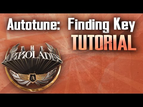 Finding Key of Song for Autotune
