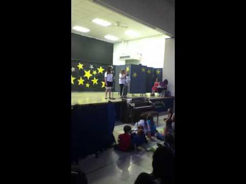 Marley, Sarah, Sam Hooper School Talent Show