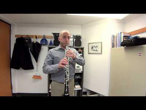 Aaron Hill's Oboe Warmup