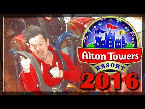 Alton Towers Resort 2016 - Vlog Part 2