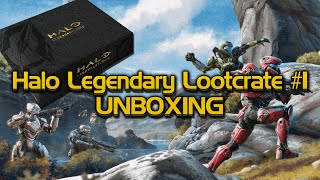 Halo Legendary Lootcrate unboxing