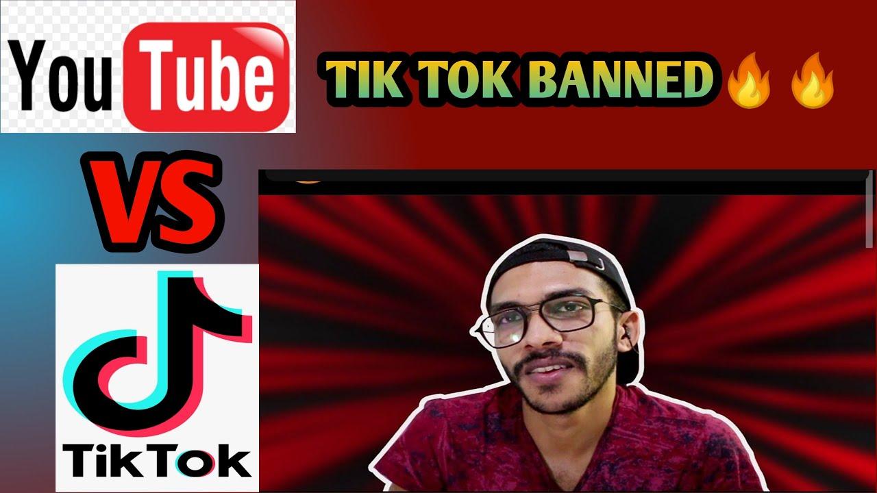 YouTube vs tiktok fan fight💪💪 ഇങ്ങനെ പോയാൽ tik tok bann ...