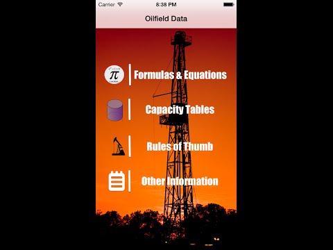OilField Formulas for HandyCalc