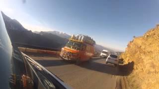 Marruecos, Carretera Alto Atlas Feb2014