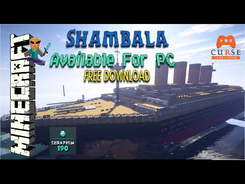 Minecraft PS3 Shambala Map Now Available For PC With Shaders MOD -  TU30 Episode: 384