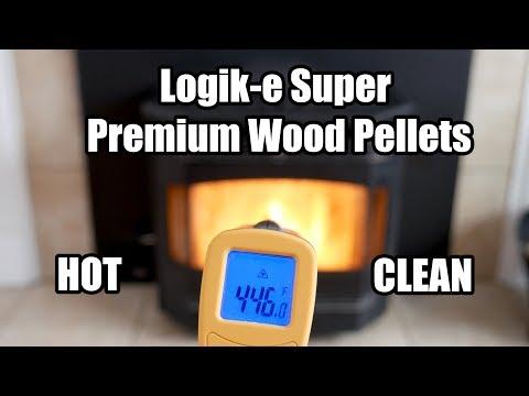 Best Hardwood Pellets I have Ever Burned! Clean and Hot!